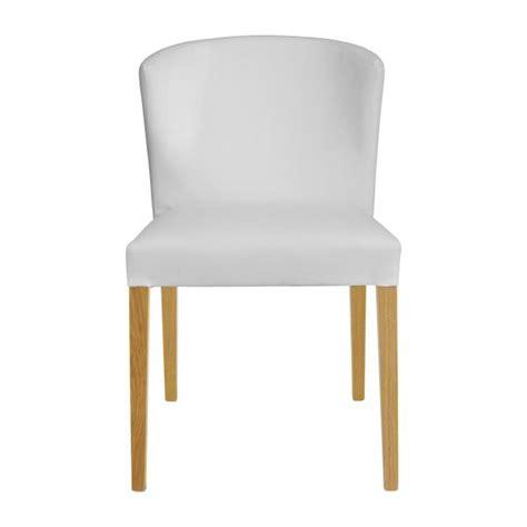 habitat chaise de bureau valentina chaises de salle à manger blanc bois habitat