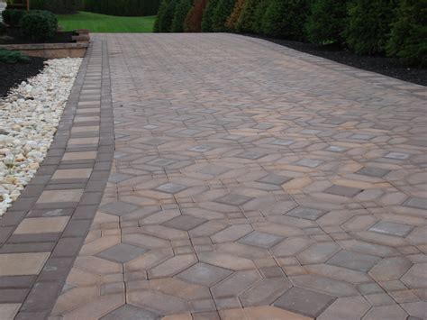 driveway paver patterns landscaping ideas with pavers info garden ideas