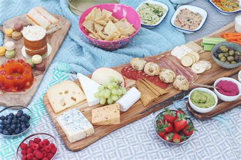 food for a picnic zoella picnic party