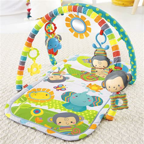 tapis musical fisher price snugamonkey musical play