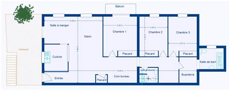 appartement 4 chambres plan appartement 4 chambres
