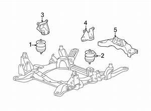 Cadillac Srx Engine Mount  Awd  Liter  Right