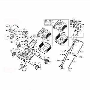 Bosch Rotak 32  3600h85042  Parts Diagram  Page 1