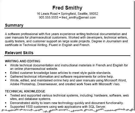 8 best resumes resume help resume and resume tips
