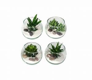 Mini Plante Artificielle : mini plantes artificielles fleuriste bulldo ~ Teatrodelosmanantiales.com Idées de Décoration