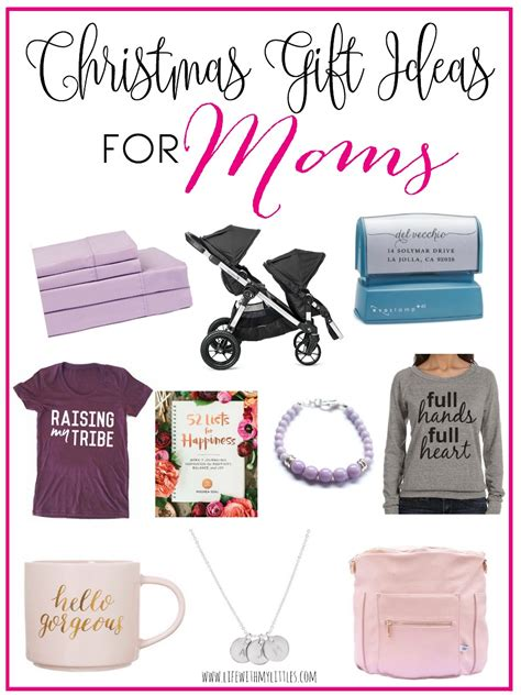 christmas gift ideas for moms life with my littles