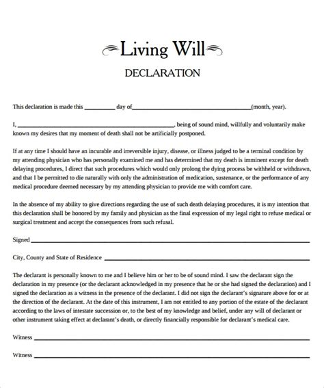 living  template   samples examples format