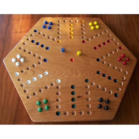 cherry wood aggravation board game