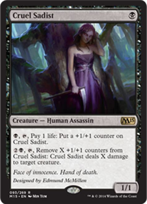 Mtg Black Assassin Deck by None Shall Pass Bombs M15 Sealed Primer Hipsters Of The