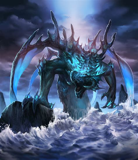 Fonds D'ecran Monsters Leviathan Rictus Fantasy