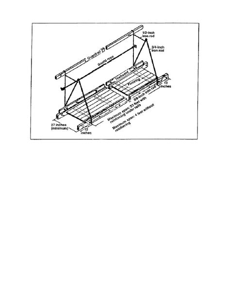 boatswains chair scaffold figure 1 18 swinging scaffold construction details