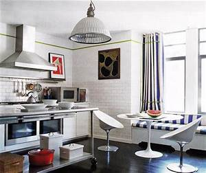 striped curtains design ideas With kitchen colors with white cabinets with prada marfa wall art