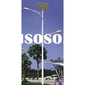 solar street lamp pole solar street lamp pole