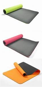 tapis de yoga tpe 183x61cm 6mm sangle sac With tapis de yoga avec canapé super confortable