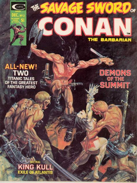 the savage sword of kull volume 1 the savage sword of conan 3 at the mountain of the moon