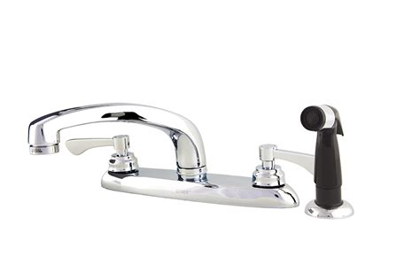 commercial two handle 4 hole installation kitchen faucet
