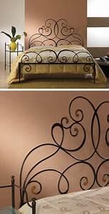 Lit Fer Forgé Fille : lit fer forge 140 x 190 maison design ~ Dode.kayakingforconservation.com Idées de Décoration