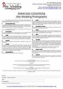 wedding venue contract template business With booking terms and conditions template