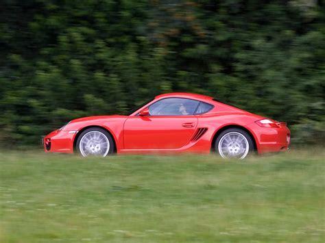 2007 Porsche Cayman - Red Side