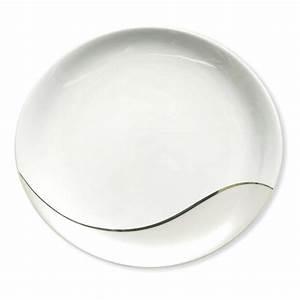 Service Assiette Design : assiette contemporaine en porcelaine vaisselle design bruno evrard ~ Teatrodelosmanantiales.com Idées de Décoration
