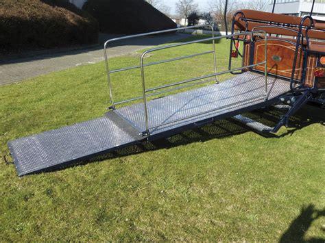 re escalier pour handicape attelage rebulard wagonnette mixte pour passagers handicap 233 s et valides