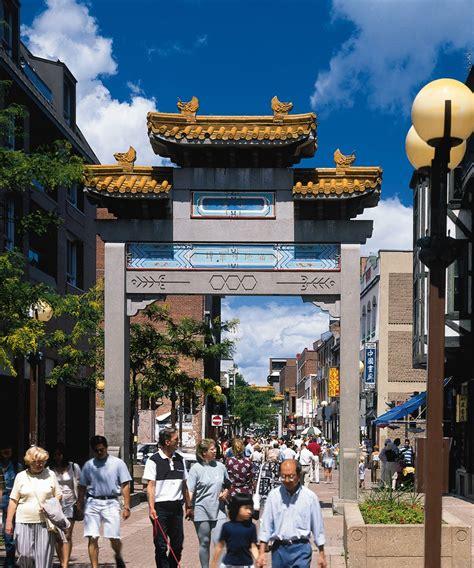 le quartier chinois à hôtels à proximité du quartier chinois de montréal