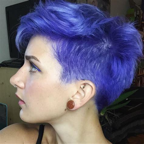 violet hair color   hair color pictures