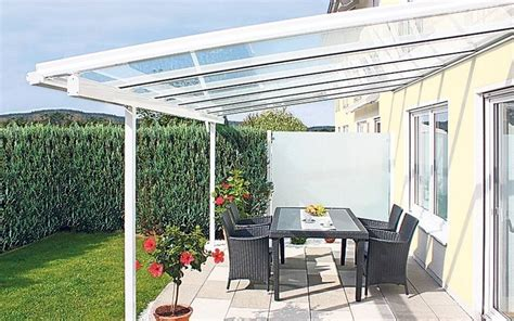 copertura terrazzi trasparenti mobili lavelli tettoie per verande trasparenti