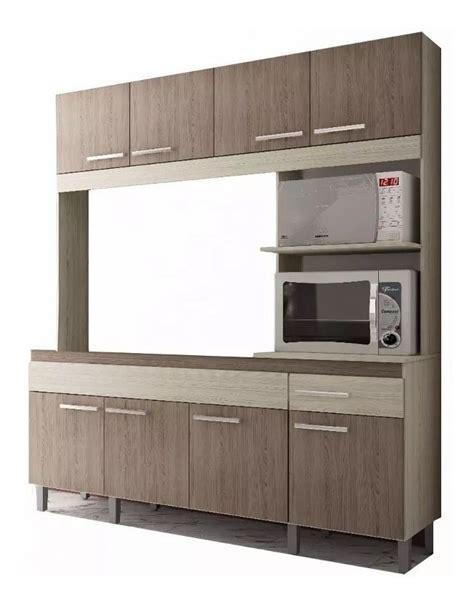Mueble Cocina Compacta Aereo Bajo Mesada Alacena Kit Lg