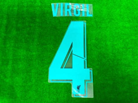 Transferts, mercato, actualité et rumeurs foot du liverpool football club. Official VIRGIL #4 Liverpool FC 3rd CUP UCL 2019-20 PRINT