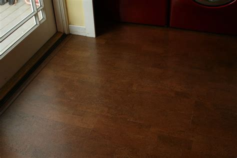Yay! Cork Flooring Going Over Bad Kitchen Tile!!! (brand