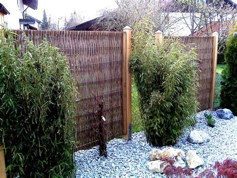 Sichtschutz Garten Robinie sichtschutz robinie mit rahmen 160x180 cm www garten