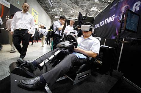 virtual reality expo nippon news editorial