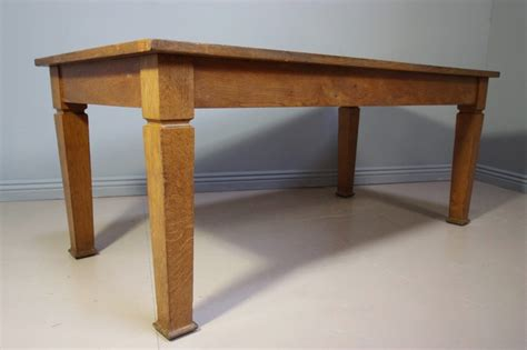 wood dining tables for 1930 s oak library dining table antiques atlas 1930