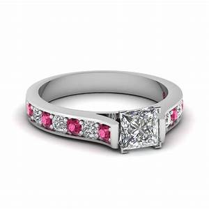 pave set micropave engagement rings setting With pave wedding ring sets