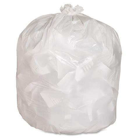 kitchen trash bags genuine joe gjo02312 heavy duty low density kitchen trash