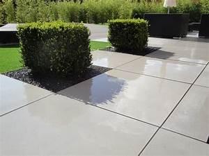 Dalle En Béton : dalle beton terrasse ma terrasse ~ Nature-et-papiers.com Idées de Décoration