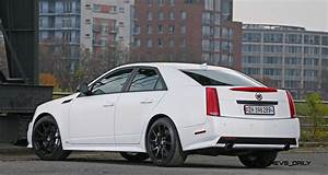 2012 Cadillac CTS-V with Satin White Wrap by CAMSHAFT