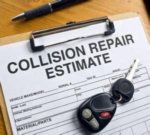understanding repair estimates auto body repair arlington