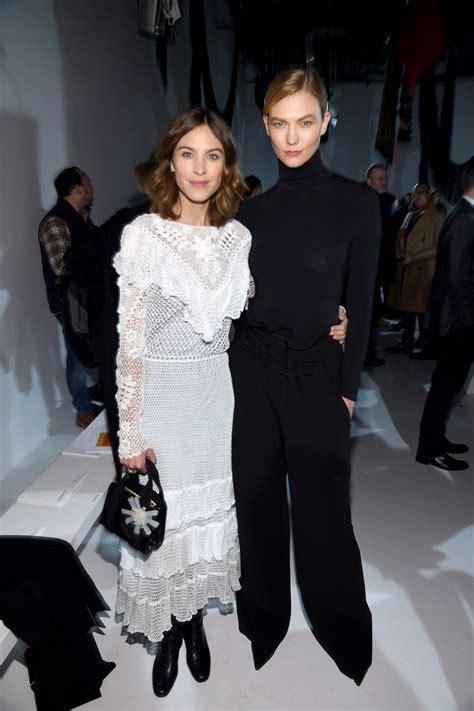 Alexa Chung Karlie Kloss Calvin Klein Collection
