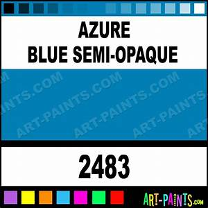 Azure Blue Semi-Opaque Delta Acrylic Paints - 2483 - Azure ...