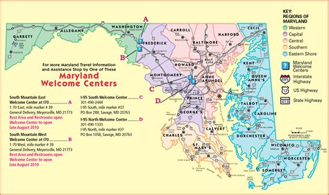 Maryland Map | Fotolip.com Rich image and wallpaper