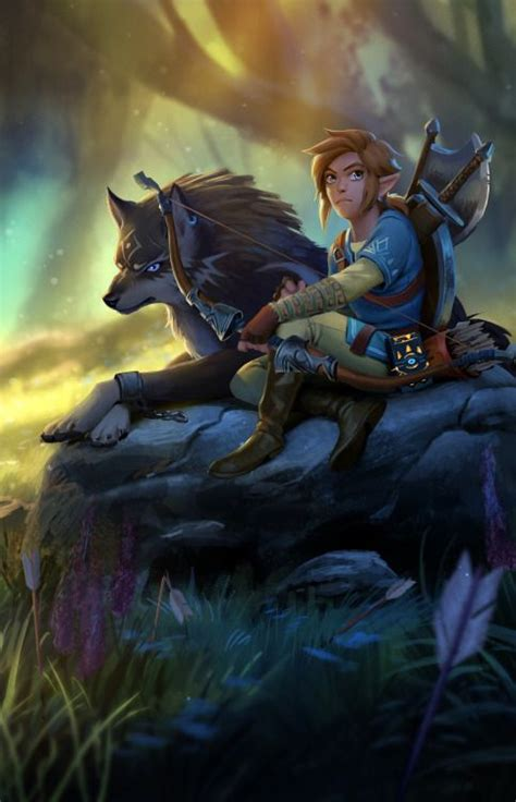 Legend Of Zelda Breath Of The Wild Fan Art Cant Wait