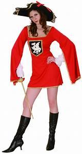 Kostüm Musketier Damen : musketier kost m rot f r damen g nstig bei vegaoo ~ Frokenaadalensverden.com Haus und Dekorationen
