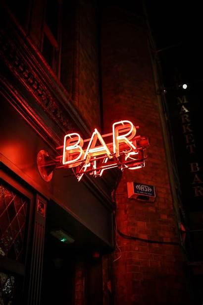 Bar Neon Unsplash Singage