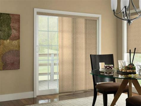 blinds patio doors ideas house decor ideas