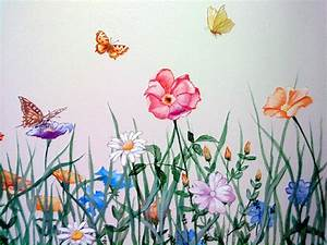 Blumen Bilder Gemalt : blumenwiese gemalt von oben google suche blumen tattoo pinterest blumenwiese ~ Orissabook.com Haus und Dekorationen