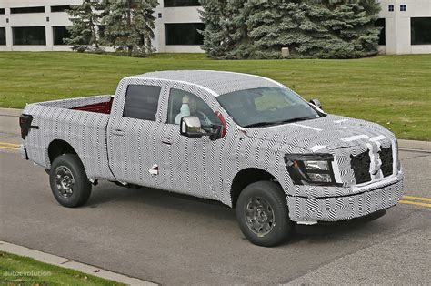 cummins nissan titan 2016 nissan titan isv cummins turbo diesel teased ahead of