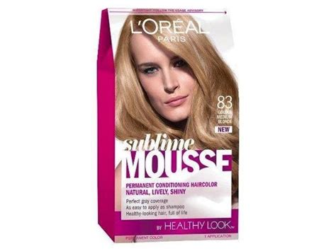 L'oreal Healthy Look Sublime Mousse Hair Color, 83 Golden