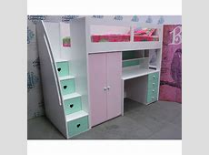 Buy Kids space saver loft bed frame 1800h Online in